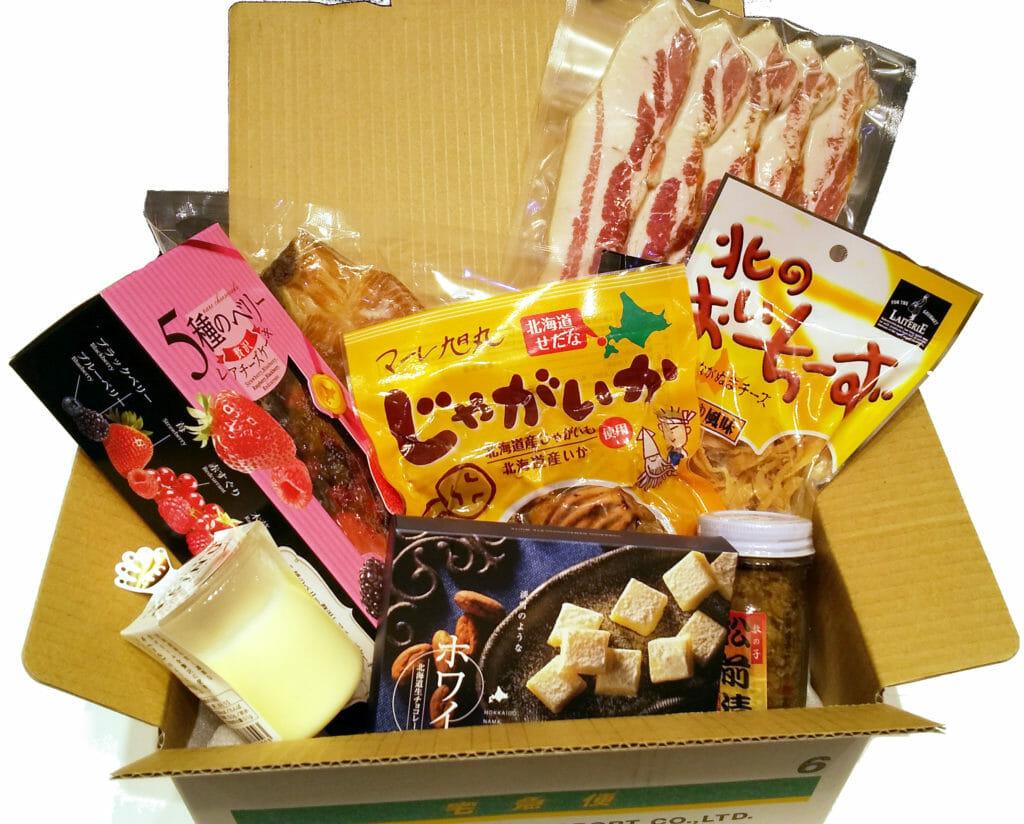 北海道食品事業者応援セット(おまかせ)見本